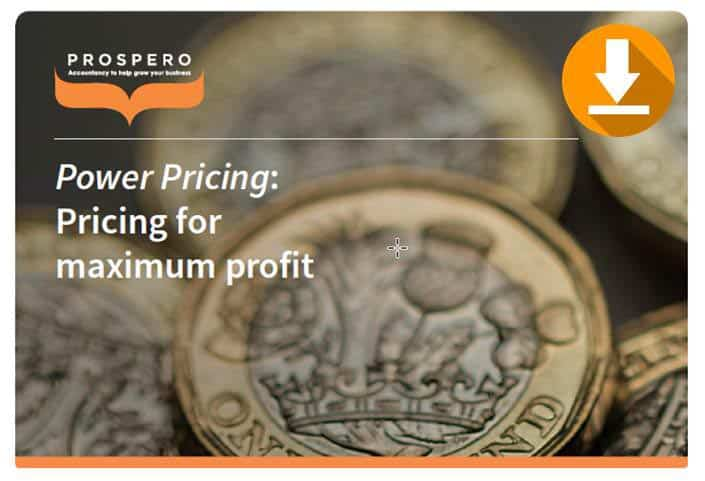Power Pricing Consultancy Brochure Download from Prospero Accounting Ltd