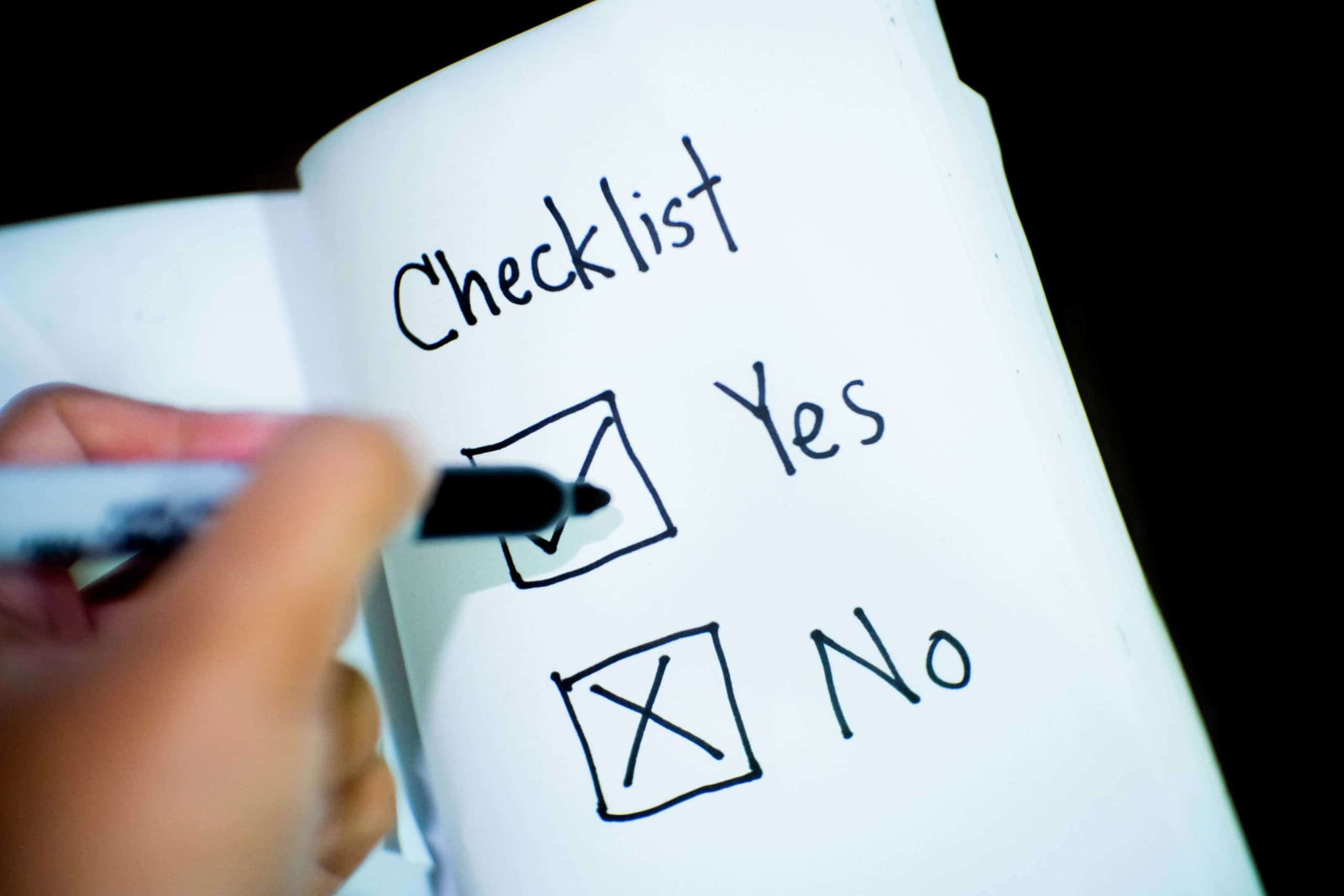 Checklists Prospero Accounting Business Bitesize Report Checklist Success